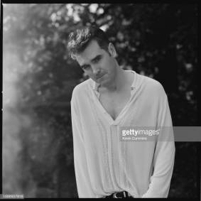 English singer and lyricist Morrissey, circa 1990. (Photo by Kevin Cummins/Getty Images)